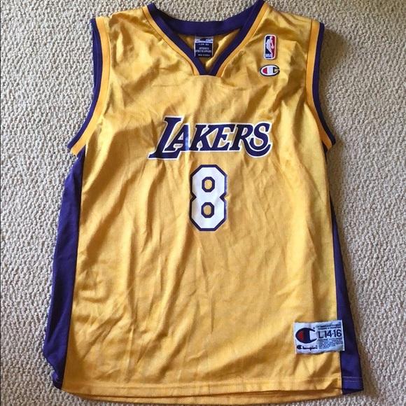 Champion Shirts & Tops | Kids Kobe Lakers Jersey | Poshmark